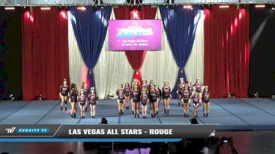 Las Vegas All Stars - Rouge [2021 L2 Junior - D2 - Medium Day 1] 2021 The American Spectacular DI & DII