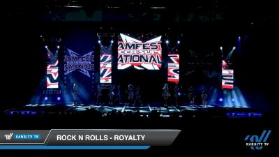 Rock N Rolls - Royalty [2020 L3 Senior - D2 - Small - A Day 1] 2020 JAMfest Cheer Super Nationals