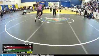 170 lbs Cons. Round 6 - Ryder Wilder, The Outsiders vs Jessey Colas, AAWA