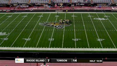 Replay: Rhode Island vs Towson | Oct 16 @ 4 PM
