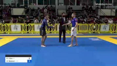 Kobe Litov vs Adam Bejaoui 2021 Pan IBJJF Jiu-Jitsu No-Gi Championship