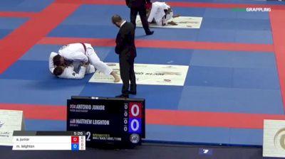 Antonio Junior vs Matthew Leighton 2018 Abu Dhabi Grand Slam London