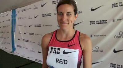 Sheila Reid big PR and calls out Ryan at Pre Classic 2013
