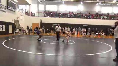 132 lbs Semifinal - Nick Geary, Brandywine Heights vs John Samy, Salisbury