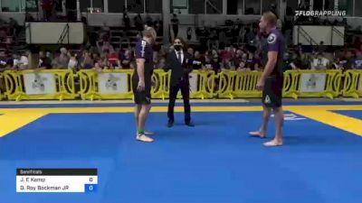 Jeffrey E Kemp vs Donald Roy Bockman JR 2021 Pan IBJJF Jiu-Jitsu No-Gi Championship