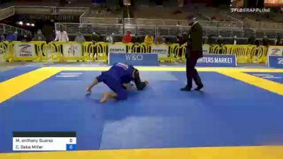Martin Anthony Suarez Jr vs Charles Deke Miller 2020 World Master IBJJF Jiu-Jitsu Championship