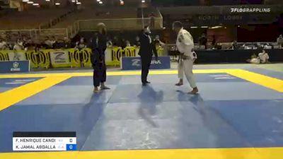 FLAVIO HENRIQUE CANDIDO LARA vs KHALID JAMAL ABDALLAN BAZZ 2020 World Master IBJJF Jiu-Jitsu Championship