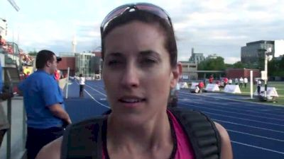 Sheila Reid tried to take the 800 as a workout to prepare for Nationals