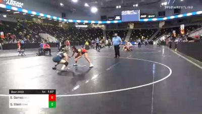 138 lbs Final - Savannah Gomez, California vs Grace Stem, Pennsylvania