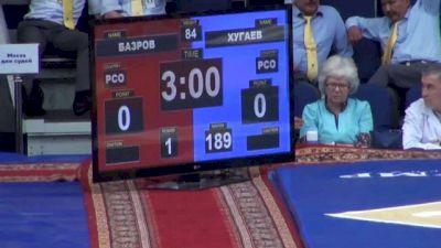 120 lbs finals Alan Hogaev vs. Eduard Bazrov