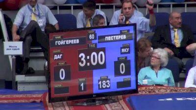 60 lbs finals Bekhan Goygereev vs. Timur Pesterov
