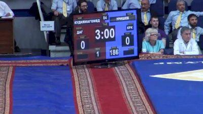 84 lbs finals Anzor Urishev vs. Shamil Kudiyamagomedov