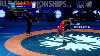 82 kg Repechage #2 - Mohammad Aziz Naghousi, Iran vs Amirkhan Tsechoev, Russia