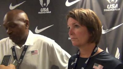 Mike Holloway Beth-Alford Sullivan Coaches of team USA