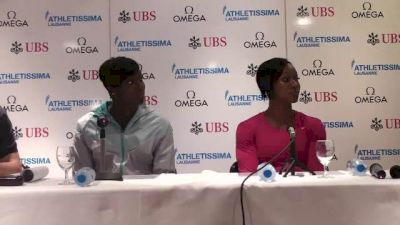 Kimberlyn Duncan is open to running the 4x100 in Moscow