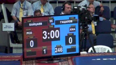 96 lbs quarter-finals Vladislav Baytsaev vs. Khadzhimurad Gatsalov