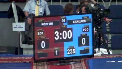 96 lbs round1 Alexander Kolgin vs. Vladislav Baytsaev