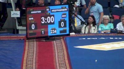96 r1, Pave Nikitin vs Knapasha Abdurashidov