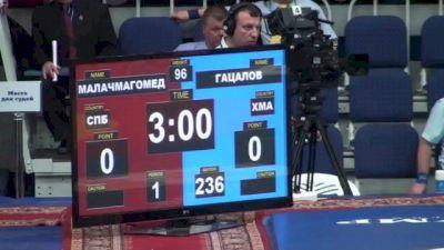 96 lbs round1 Yusup Malachmagomedov vs. Khadzhimurad Gatsalov