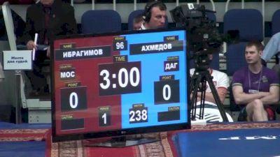 96 lbs round2 Marat Ibragimov vs. Shamil Akhmedov