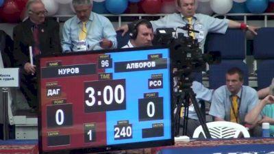 96 lbs round2 Nurov Magomedgadzhi vs. Vadim Alborov