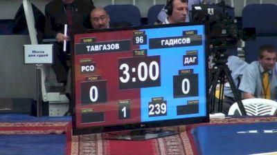 96 lbs round2 Robert Tavgazov vs. Abdusalam Gadisov