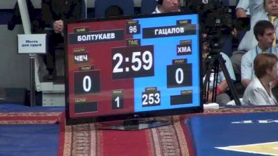 96 lbs semi-finals Anzor Boltukaev vs. Khadzhimurad Gatsalov