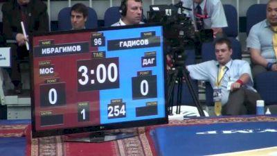 96 lbs semi-finals Marat Ibragimov vs. Abdusalam Gadisov