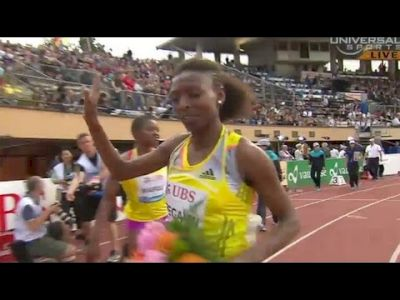 Fifth 1500m win for Abeba Aregawi