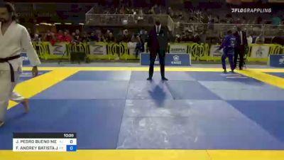 JOÃO PEDRO BUENO MENDES vs FABRICIO ANDREY BATISTA JUNIOR 2021 Pan Jiu-Jitsu IBJJF Championship