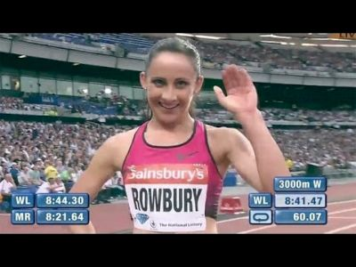 Rowbury leads Team USA in the London DL 3000m