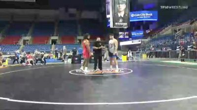 125 kg Consolation - Jordan Miron, South Side Wrestling Club vs Mauro Correnti, New York Athletic Club