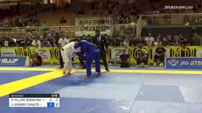 Pedro Marinho Jumps On A Guillotine to Submit Jaime Canuto