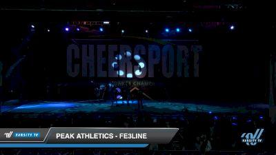 Peak Athletics - Fe3LINE [2019 Senior Small 3 Division B Day 2] 2019 CHEERSPORT Nationals