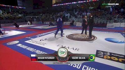 Muslim Patsarigov vs Igor SIlva 2018 Abu Dhabi World Pro