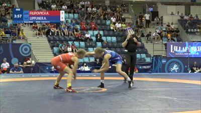 53 kg Final 3-5 - Alina Filipovych, Ukraine vs Annatina Kendra Lippuner, Switzerland