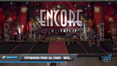 Pittsburgh Pride All Stars - Untamed [2021 L2 Junior Day 1] 2021 Encore Championships: Pittsburgh Area DI & DII