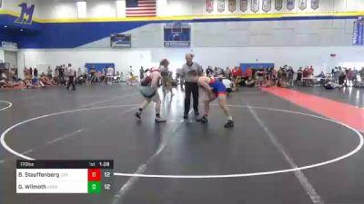 170 lbs Consolation - Braden Stauffenberg, Izzy Style 1 vs Gavin Wilmoth, Ares Wrestling Club