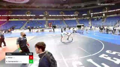 220 lbs 3rd Place - Jeff Miller, Pennsylvania vs Alex Semenenko, NJ/NY