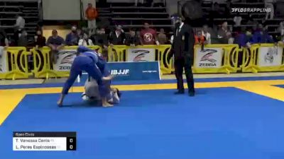 Tanya Vanessa Denis vs Laura Peres Espinossas 2020 American National IBJJF Jiu-Jitsu Championship