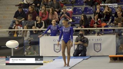Konnor McClain - Vault, USA - 2019 City of Jesolo Trophy