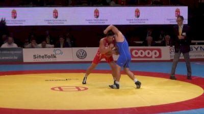 96 lbs 3rd Gadabadze Azerbajian vs. Saikawa Japan