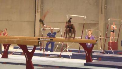 Simone Biles Training Beam at the 2013 World Championships