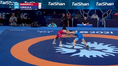 72 kg Final 1-2 - Zhamila Bakbergenova, Kazakhstan vs Masako Furuichi, Japan