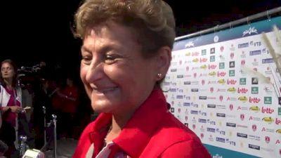 Martha Karolyi on Hostile Fans