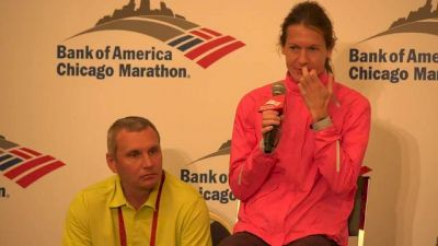 Chicago Marthon-Press Conference-Women's Top 3 (Part 2)