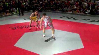 155 lbs match Jordan Oliver vs. Lance Palmer