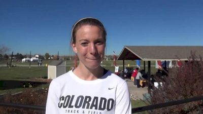 Colorado's Shalaya Kipp soaks up the home town atmosphere at 2013 Pac 12 Championships