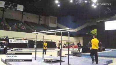 Kiwan Watts - Parallel Bars, Arizona State - 2021 Men's Collegiate GymACT Championships
