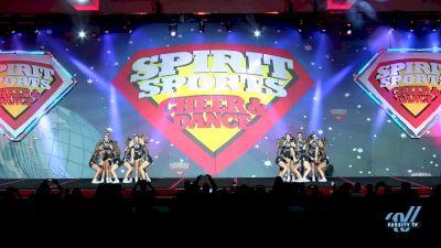 MTM All-Star Cheerleading - Magic Gold [2018 Senior - Small - B 1 Day 2] Spirit Sports - Duel in the Desert